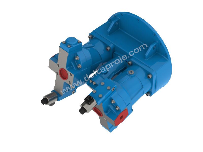Integrated pumping units